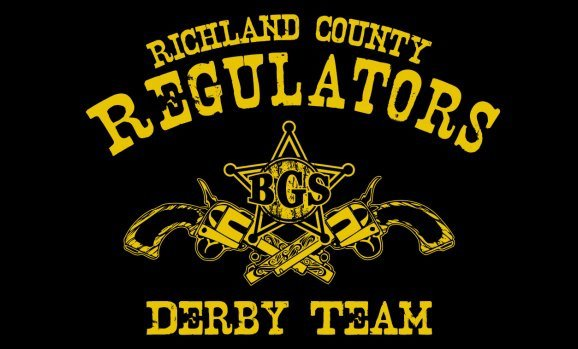 Richland County Regulators Derby Team Logo