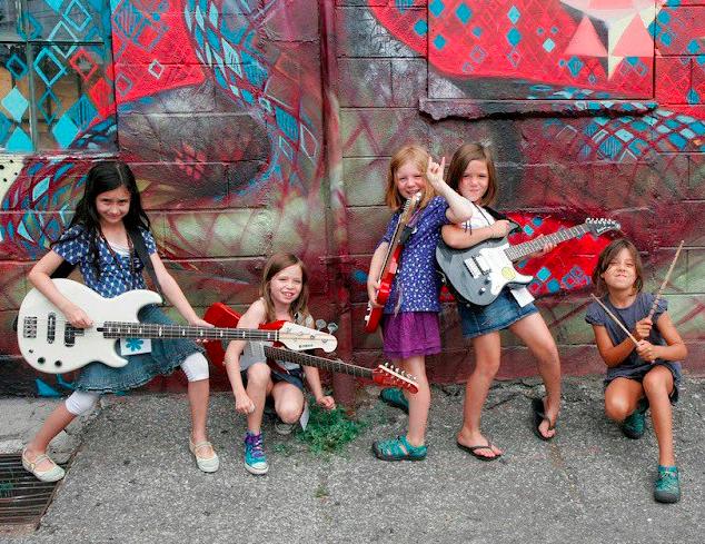 Girls Rock Columbia camp band