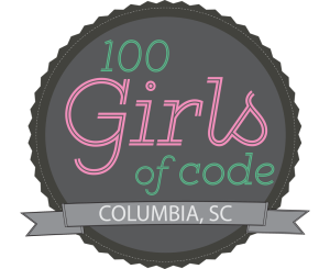 100 Girls of Code Columbia Logo